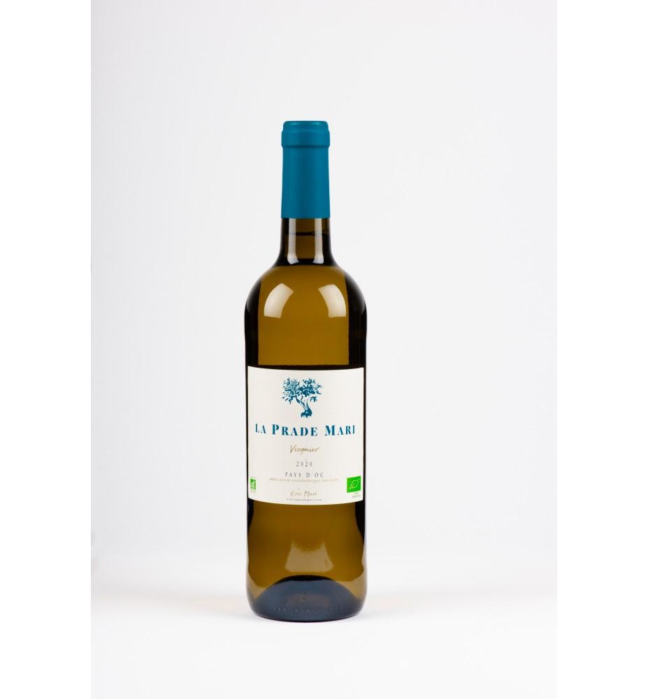 Vin blanc biologique IGP Pays d'Oc.
