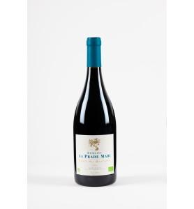 Élégant vin rouge biologique AOC Minervois.